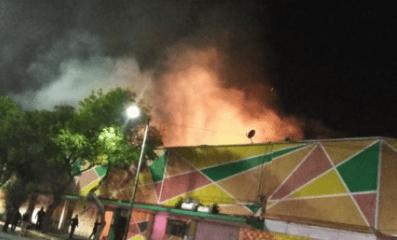 Incendio en el mercado Morelos; van cuatro en menos de un mes