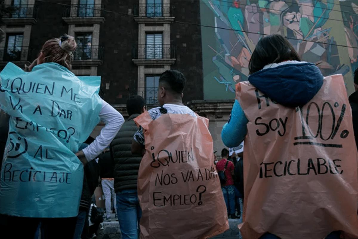 protesta_ productoresPlastico_Sedema