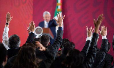 AMLO, Bienvenida, México Libre, Consulta, Ex, Presidentes, Calderón, Felipe,