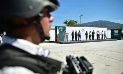 AMLO inaugura primer cuartel de la Guardia Nacional en Michoacán