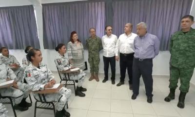 AMLO llamó a la GN a respetar derechos humanos de los delincuentes
