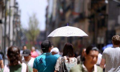 Aumenta temperatura en la Ciudad de México
