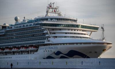 Sube a 355 casos de coronavirus en crucero en Japón