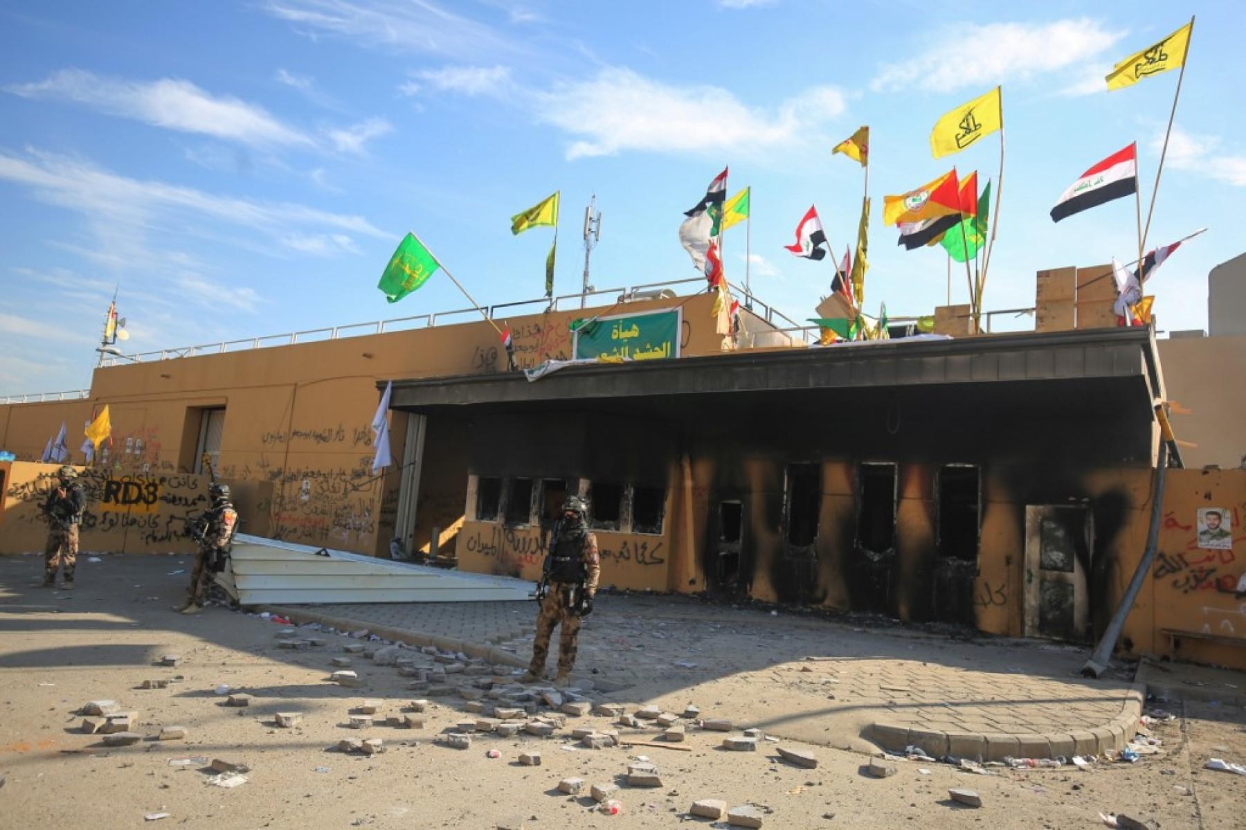 Lanzan cohetes cerca de la embajada de EU en Irak