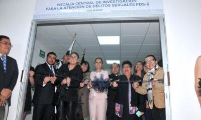 FGJ CDMX inaugura Agencia Modelo Especializada en Delitos Sexuales