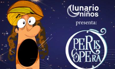 Periscópera, niños, Ópera, Lunario, Auditorio NAcional, Niñas, Menores, Cultura,