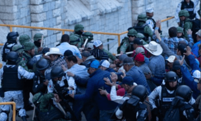 Agricultores se enfrentan con GN por control de la presa La Boquilla