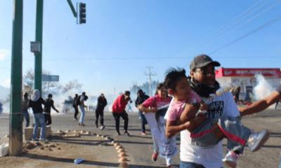 CIDH demanda esclarecimiento de represión a padres de los 43 de Ayotzinapa