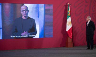 Microsoft invertirá en México 1,100 mdd durante sexenio de AMLO