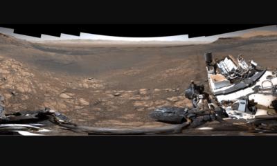 Curiosity, Imagen, Fotografía, Marte, Panorámica,