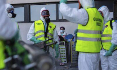 Tiene España récord de muertes por coronavirus