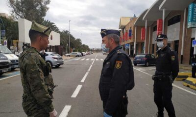 Ejército de España vigilará cumplimiento de medidas de emergencia sanitaria