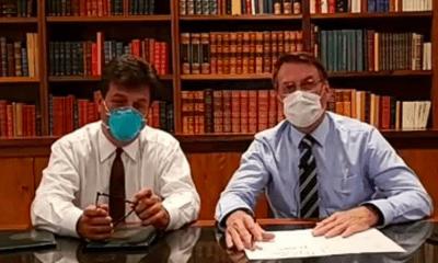 Jair, Bolsonaro, Presidente, Brasil, Coronavirus, Covid-19, Contagio, Trump, Secretario,