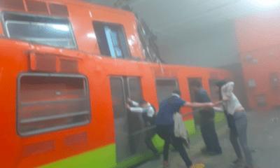 Metro, Tacubaya, Choque, Florencia, Serranía, Accidente, Cajas, Negras,