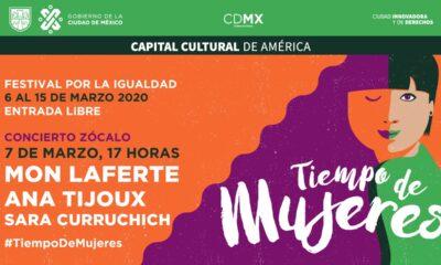 Gobierno de la CDMX presenta el festival Tiempo de Mujeres