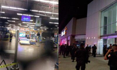 30 hombres saquean centro comercial en Texcoco