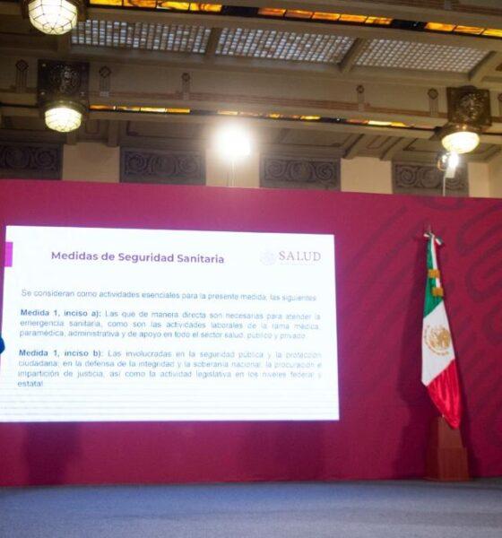AMLO, Andrés Manuel, López Obrador, Conferencia, Matutina, Informe, Zócalo, Palacio Nacional, PAndemia, Coronavirus, Covid-19,