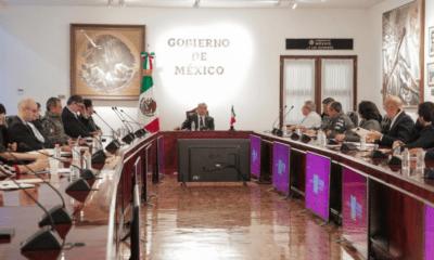 AMLO, Andrés Manuel, López Obrador, Reunión, Empresarios, Gabinete, Gobierno, Coronavirus, Covid-19, Sesión, Permanente,