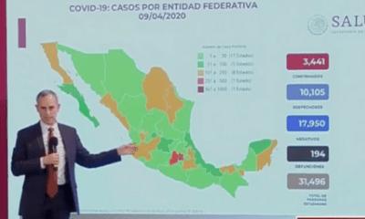 Coronavirus, Covid-19, México, Cifras, Conteo, Registro, Casos, Confirmados, Muertes, Muertos, Fallecidos, Conferencia, Salud, López-Gatell,