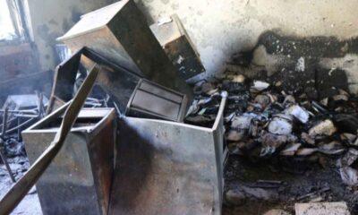 Difunden video de incendio provocado en la FES Acatlán