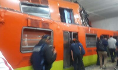Detienen a dos empleados del metro por choque en Tacubaya