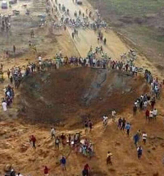 Caída de un meteorito en Nigeria es una fake news