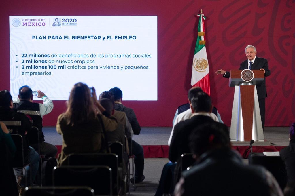 """""""Coronavirus precipitó el derrumbe del modelo neoliberal"""": AMLO"""