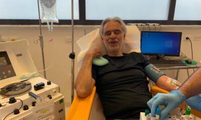 Andrea Bocelli confirma haber contraído Covid-19