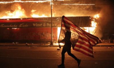 Antifa, AFA, Anti, Fascistas, Estados Unidos, EU, George, Floyd, Protestas, Manifestaciones,