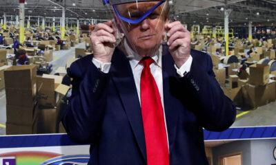 Trump asegura que disminuyen casos y defunciones por Covid-19 en EU