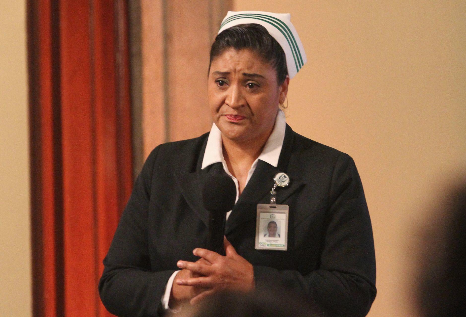 Egresa 'Jefa Fabiana' de hospital tras contraer Covid-19