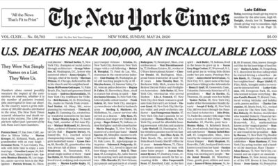 Causa revuelo portada de The New York Times