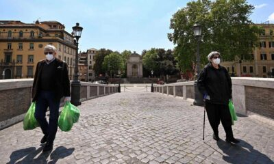 Tiene Italia la menor cifra de muertes en un día: 174