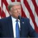 Donald, Trump, discurso, Estados Unidos, Anonymous, George, Floyd, Washington, Protestas,