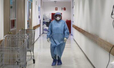 Salud reporta 20 mil 217 infecciones de Covid-19 en personal médico