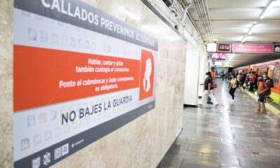 Metro invita a los mexicanos a guardar silencio como medida sanitaria