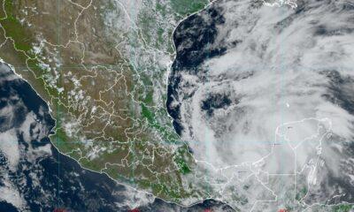 Tormenta Cristóbal golpea Campeche y la costa oeste de México